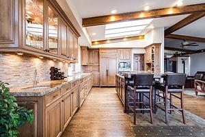 Kitchen Remodel Dark Wood