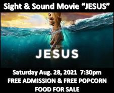"Movie ""JESUS"" by Sight & Sound"