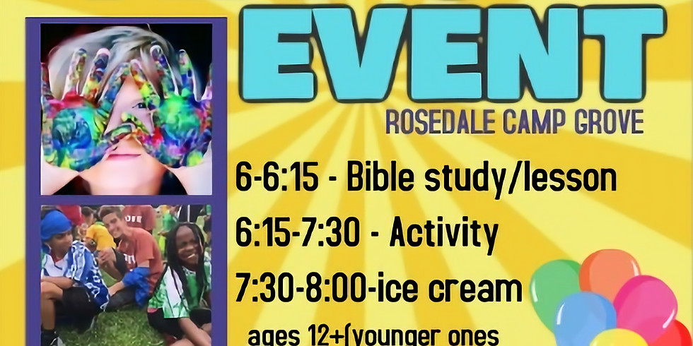 DON'T MISS OUT!! COME JOIN THE FUN!!