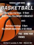 Basketball/fellowship & Breakfast