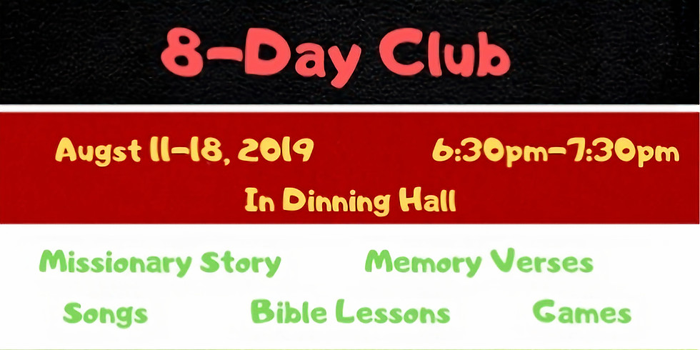 Rosedale's 8-Day Club