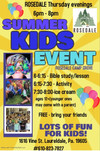 KIDS EVENT THURSDAY AT 6PM