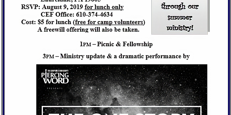 You are invited to Annual Child Evang. Picnic