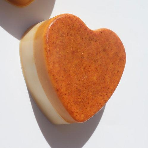 LIMITED EDITION HEART Turmeric Honey Bar