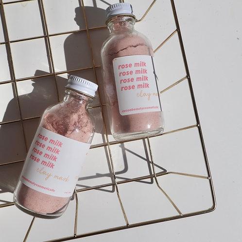 Rose Milk Clay Mask