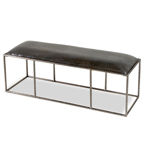 Cosme Leather Bench