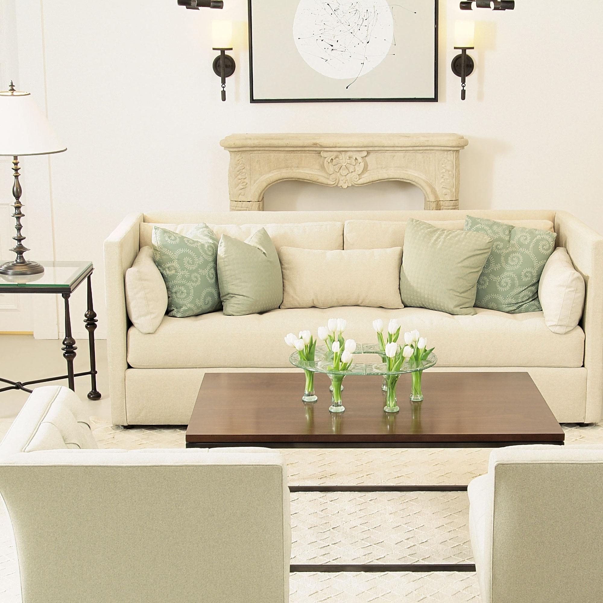 interior design by tiffany light living room - Home Salon Furniture