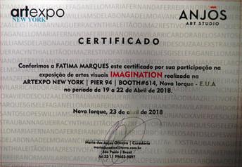 Feira ARTEXPO New York - 2018