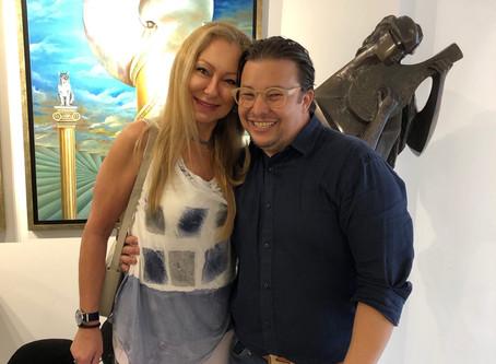 Obras em exposição na Marcelo Neves Art Gallery