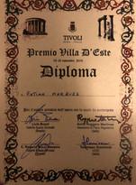 1st place award- Villa d´Este-Tívoli- 2017