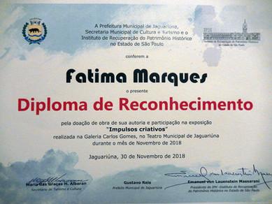 Exposição Individual Prefeitura municipal Jaguariuna - 2018