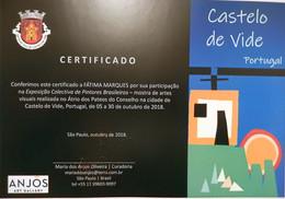 Exhibition-Castelo de Vide - Portugal -2018