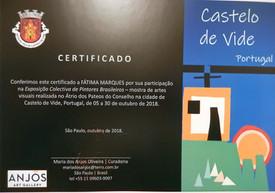 Exposição-Castelo de Vide - Portugal -2018