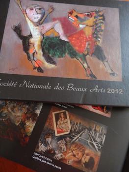 Société des Beaux Arts Paris - 2012