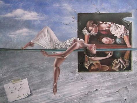 Narcisse - 2012 - óleo sobre tela - 60 x
