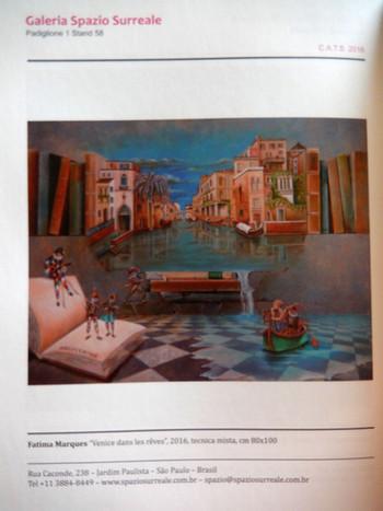 Catálogo Mostra Arte Contemporânea-Padova/Itália-2016