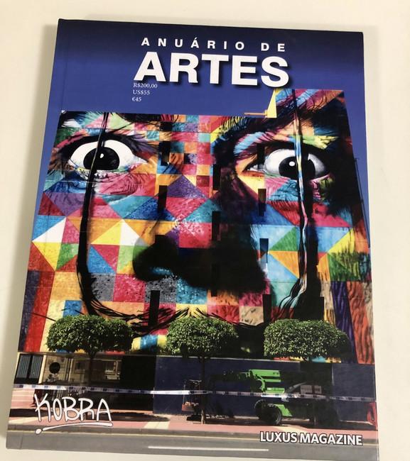 Anuário de Artes LUXUS Magazine - 2019 -