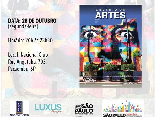 Lançamento da 3º edição do Anuário de Artes - Luxus Magazine