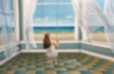 Infinitude - 2019 - óleo sobre tela - 90