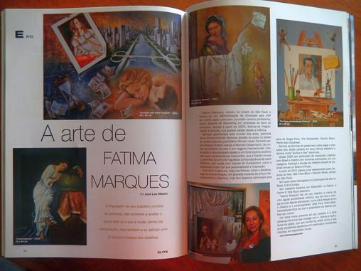 Matéria na Revista Elite Magazine-2012