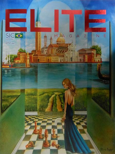 Capa Revista Elite Magazine- edição 211-