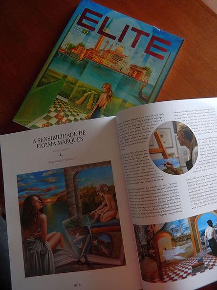 Capa e Matéria-Revista Elite Magazine 2019