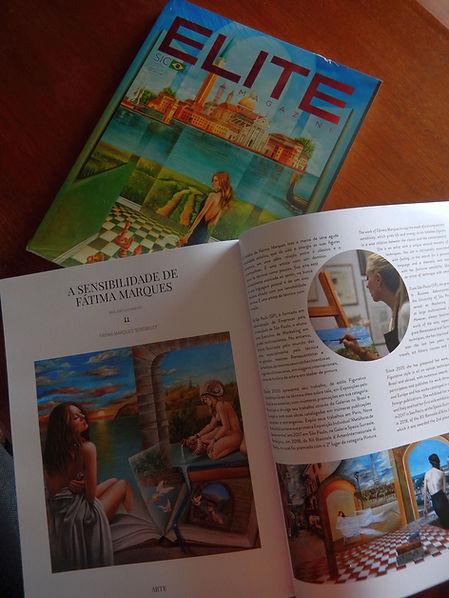 Capa e Matéria-Revista Elite Magazine 20