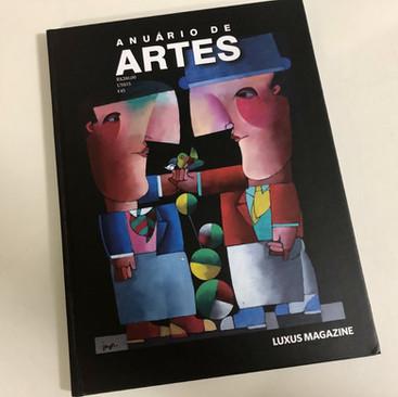 Anuário de Artes LUXUS Magazine - 2020.j