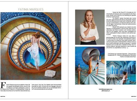 """Participação na 3ª edição - """"Anuário de Arte Luxus Magazine"""""""