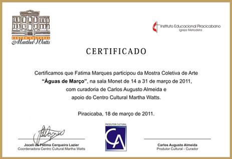Mostra Aguas de Março-Piracicaba-2011