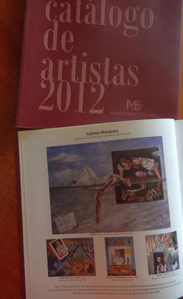 Catálogo-Galeria Mali Villas Bôas-2012