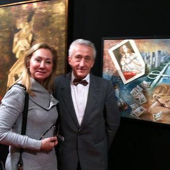 Com o presidente do SNBA - 2012
