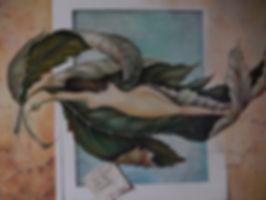 """""""Un instant pour ton moment""""( inspirada na obra de Sandro Del Prete) - 2006 - óleo s/tela - 60x 75 cm    """
