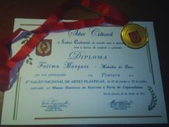 Gold Medal-2ºSalão Saber Cultural