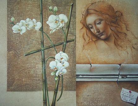 """ La Poesie"" - 2008- óleo s/tela - 55x 70cm"