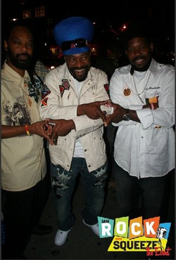 WINSTON WITH _REGGAE LEGEND MYKAL ROSE_  AND THEO FOR COLOR HERITAGE