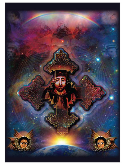 YESUS CROSS ICON POSTER