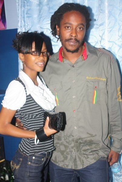Reggae Artists Isasha and Fan