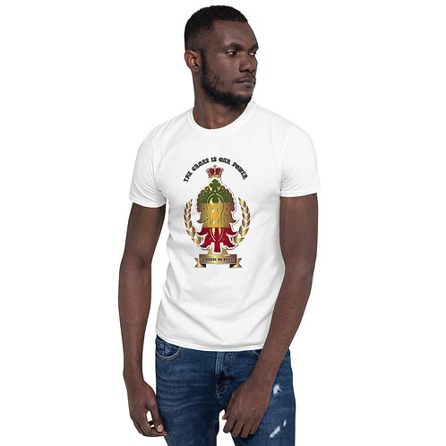 "CH 107 ""ETHIOPIC CROSS""Short-Sleeve Unisex T-Shirt"
