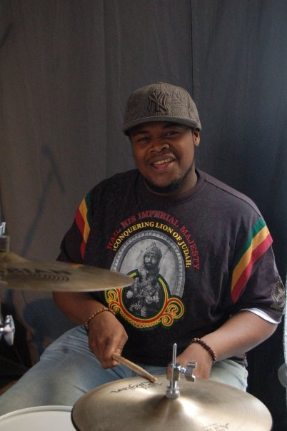 Drummer from Judah Tribe in Color Heritage Apparel