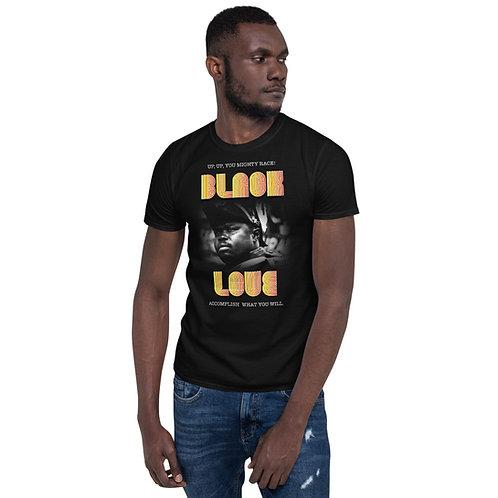 "CH 102 MARCUS GARVEY ""BLACK LOVE"" Short-Sleeve Unisex T-Shirt"