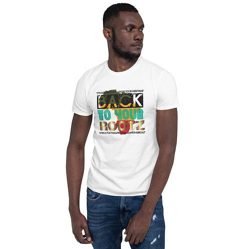 "CH 106 ""BACK TO YOUR ROOTS"" Short-Sleeve Unisex T-Shirt"