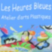 logo de l'atelier Les Heures Bleues