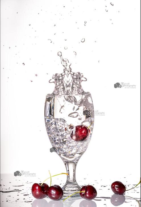 Cherries Splash for Website Watermarked.