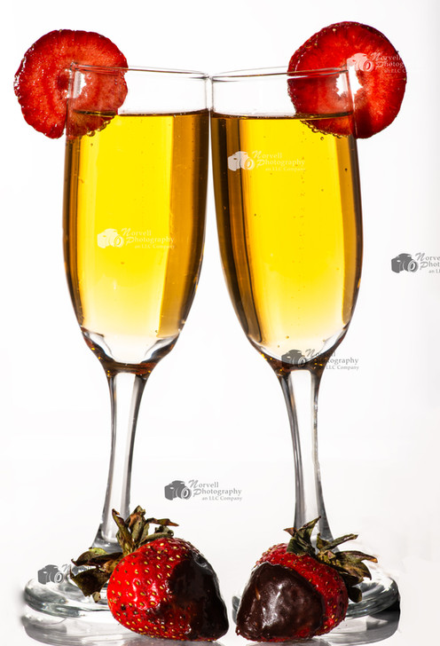 champagne strawberry toast for Website W