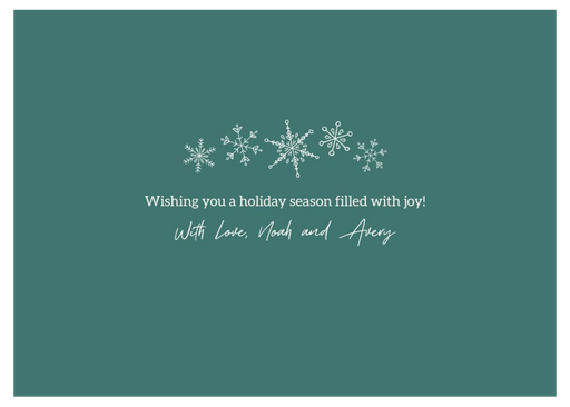 Warmest Holiday Wishes Foil Back - Copy.