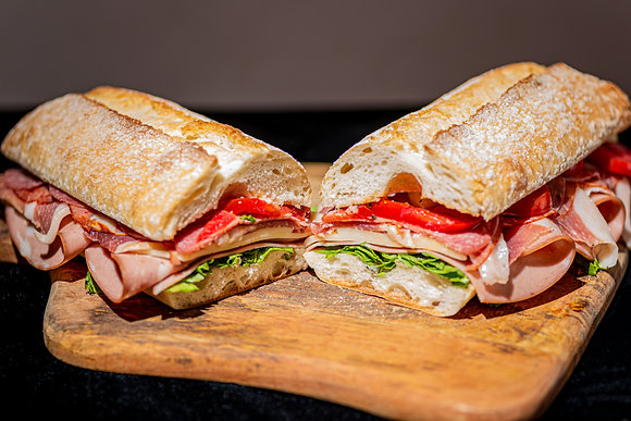 Italian Cold Cut Submarine Sandwich