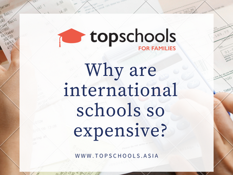 Why are international schools so expensive?