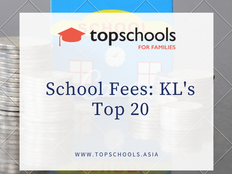 School Fees: KL's Top 20