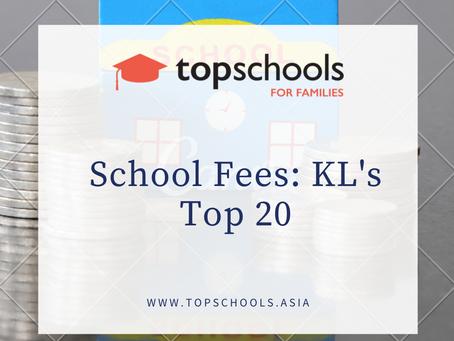 School Fees: KL's Top 20